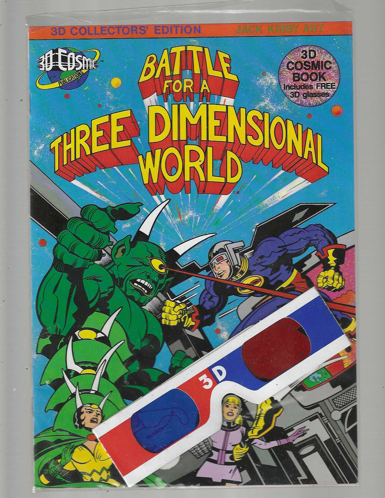 Image for Battle for a three Dimensional World: #D Collector's Edition:Jack Kirby Art
