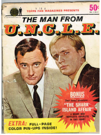 Image for Topps magazine presents,The Man From U. N. C.L. E. Magazine, Vol.1, No.2, March 1966