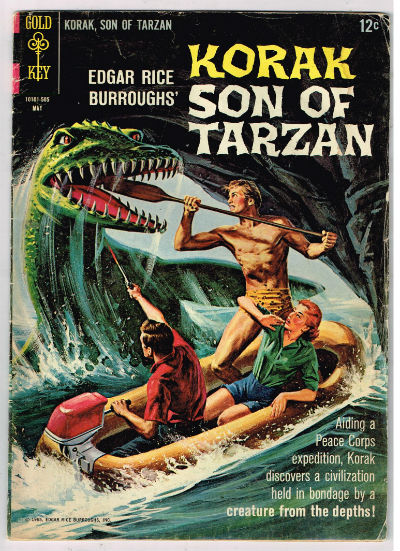 Image for KORAK, SON OF TARZAN #8    1964-1972 | VOLUME 1 | WESTERN (GOLD KEY/WHITMAN)