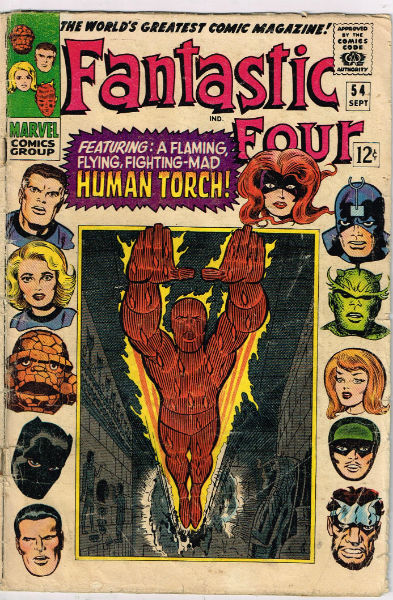Image for FANTASTIC FOUR #54    1966 | VOLUME 1 | MARVEL