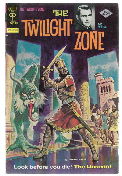 Image for TWILIGHT ZONE (GOLD KEY/WHITMAN) #65