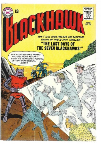 Image for Blackhawk #185