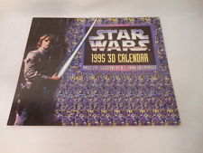 Image for 1995 Star Wars 3D calendar sealed mint
