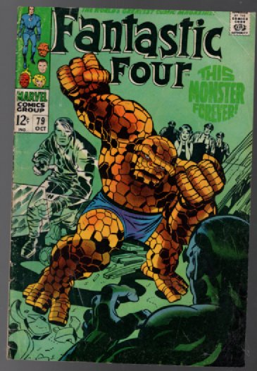 Image for The Fantastic Four #79