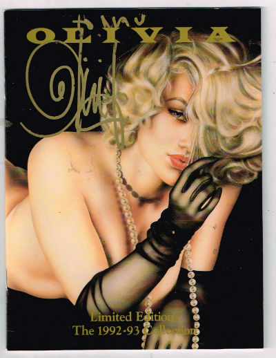 Image for Olivia:Limited editions 1992-1993-signed by olivia