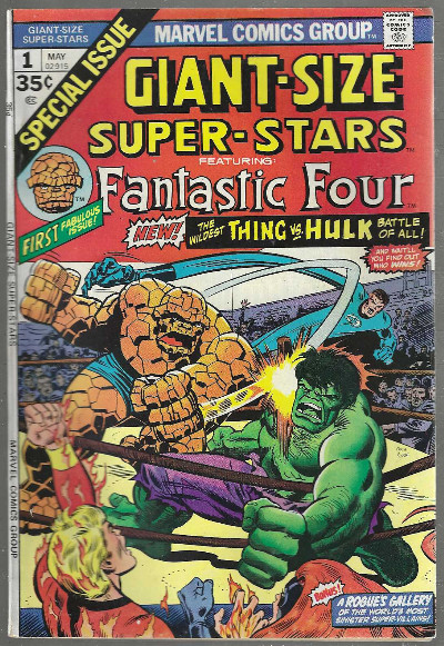Image for Giant-Size Super-Stars:Featuring,Fantastic Four #1