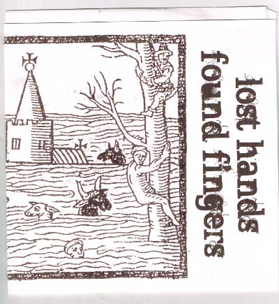 "Image for blackandwhite / Lost Hands Found Fingers - Split (7"")    Label:Clubhouse Records (4)  Cat#: CHR-005"