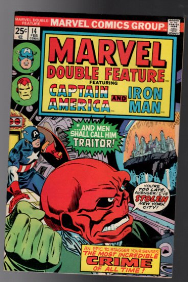 Image for Marvel Double feature #14