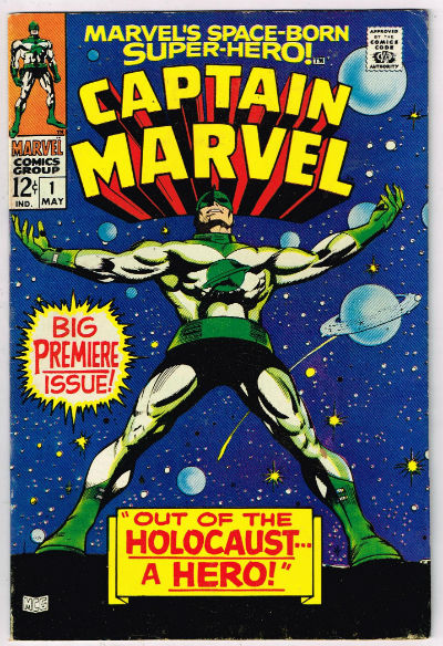 Image for CAPTAIN MARVEL #1   1968-1979 |  VOLUME 1 |  MARVEL