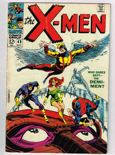 Image for UNCANNY X-MEN #49    1968,Oc. | VOLUME 1 | MARVEL