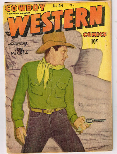 Image for COWBOY WESTERN COMICS #24    1949| VOLUME 1 | CHARLTON