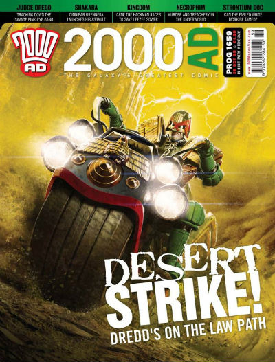 Image for 2000 AD PROG 1659   DESERT STRIKE!  RELEASED 10TH JUN 2010