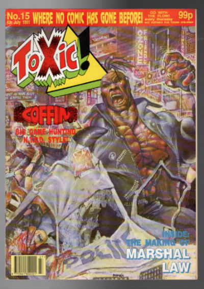 Image for Toxic Magazine;1991,no.15