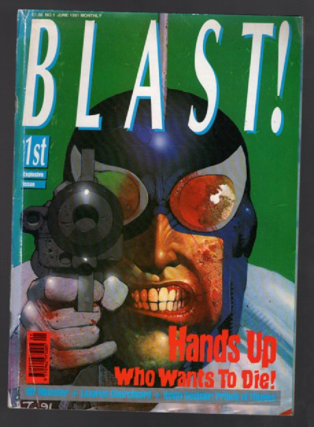 "Image for Blast! No.1""first explosive issue"""