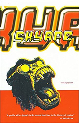 Image for Sky Ape Paperback – March 4, 2001  by Phil Amara (Author), Tim McCarney (Author), Mike Russo (Author), Richard Jenkins  (Artist)