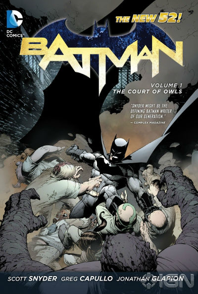 Image for Batman Vol. 1: The Court of Owls (The New 52)  – March 26, 2013