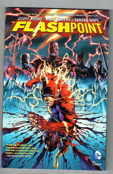 Image for Flashpoint Paperback – March 13, 2012  by Geoff Johns (Author), Andy Kubert (Illustrator)