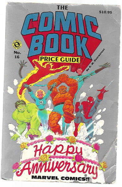 Image for COMIC BOOK PRICE GUIDE #16 P (Official Overstreet Comic Book Price Guide)