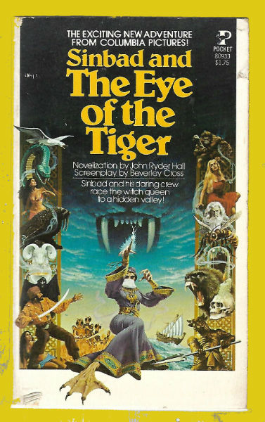 Image for Sinbad and the Eye of the Tiger: The Novelization