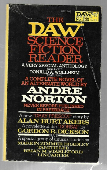 Image for DAW #200: The Daw Science Fiction Reader