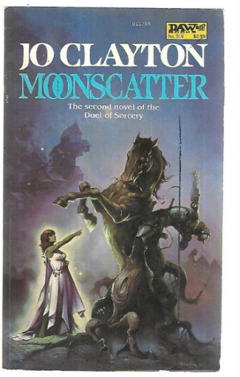 Image for DAW #516 Moonscatter (Second Novel of The Duel of Sorcery)