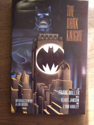 Image for The Dark Knight by Frank Miller-signed by Frank Miller #2750 out o 4000