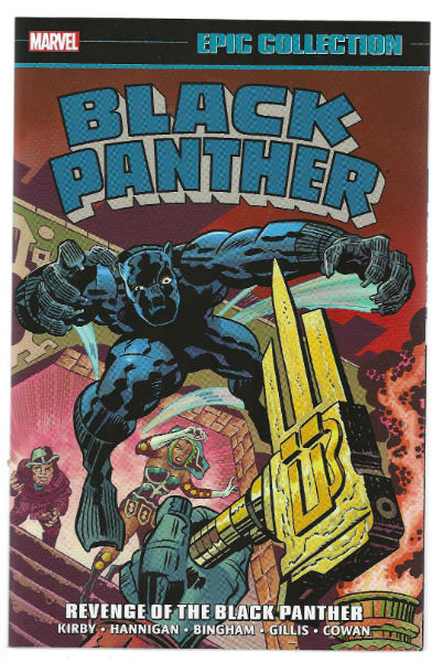 Image for Black Panther:Revenge of the Black Panther;Epic collection. TPB