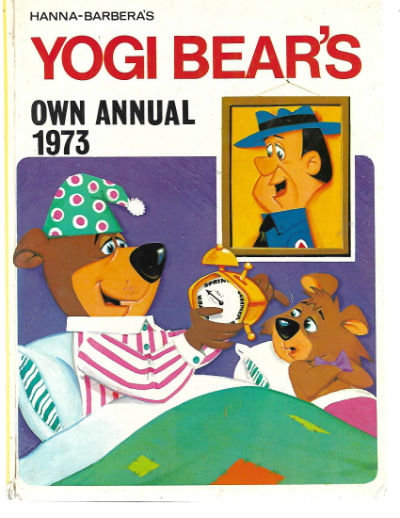 Image for HANNA-BARBERA'S YOGI BEAR'S OWN ANNUAL 1973 Hardback Book