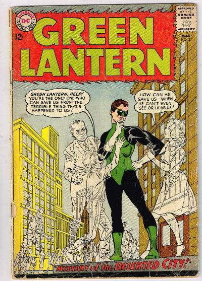 Image for GREEN LANTERN #27    1964,march | VOLUME 2 | DC