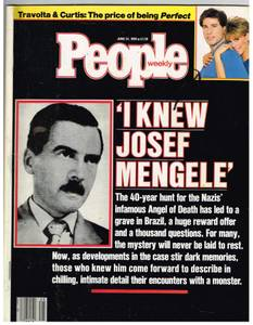 Image for People Weekly June 24,1985  Featuring R.Crumb  and Joseph Mengele