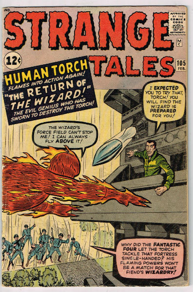 Image for STRANGE TALES #105    1963 | VOLUME 1 | MARVEL
