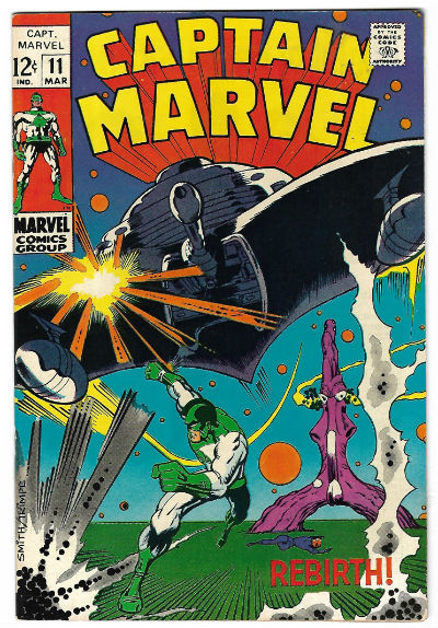 Image for CAPTAIN MARVEL #11   1968-1979 |  VOLUME 1 |  MARVEL