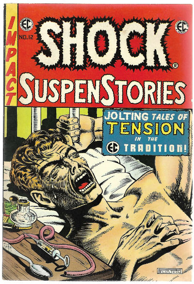 Image for SHOCK SUSPENSTORIES Nº 12 AÑO 1973 it is actually E.C.comics reprints #3.Perhaps one of the greatest story and cover ever.