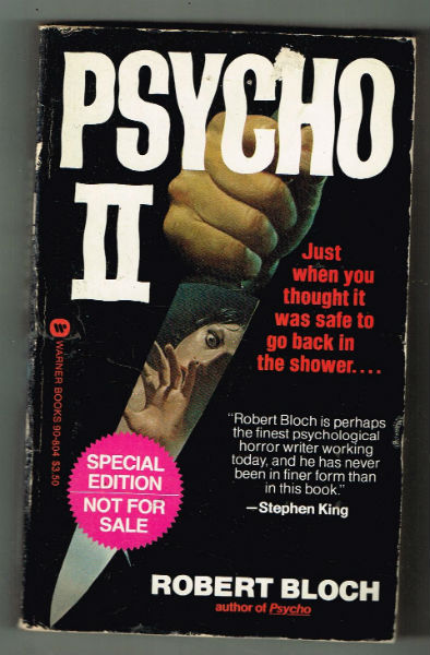 Image for PSYCHO ll-signed by Robert Bloch