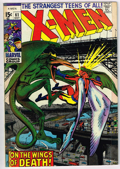 Image for UNCANNY X-MEN #61    1969 | VOLUME 1 | MARVEL