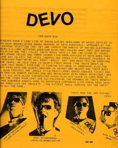 Image for Devo ‎– Can U Take It?  Label:  Rubber Robot Records ‎– RR-001  Format:  Vinyl, LP, Unofficial Release  Country:     Released:     Genre:  Electronic, Rock  Style:  Alternative Rock, Synth-pop