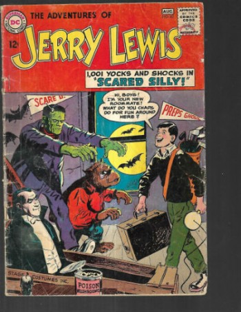 Image for The Adventures Jerry Lewis #83