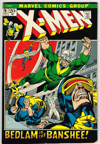 Image for UNCANNY X-MEN #76    1969 | VOLUME 1 | MARVEL