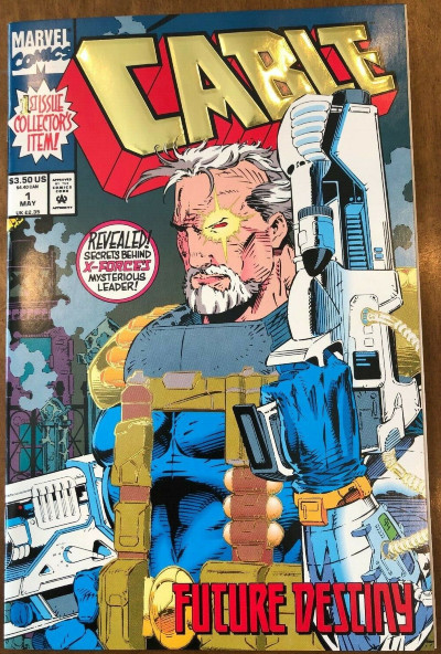 Image for Marvel Comic Books Cable Issues #1-3 (1993) 1st Ongoing Series Excellent Copies