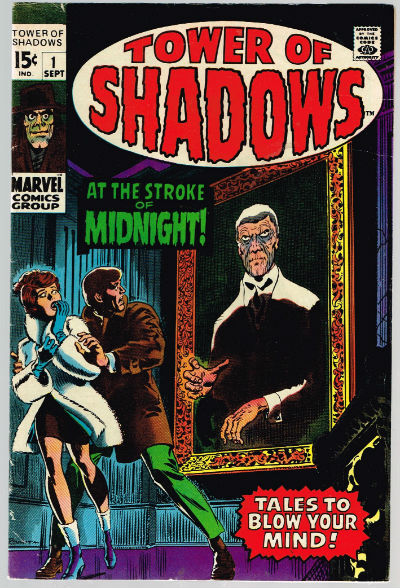 Image for TOWER OF SHADOWS #1   1969-1971 |  VOLUME 1 |  MARVEL