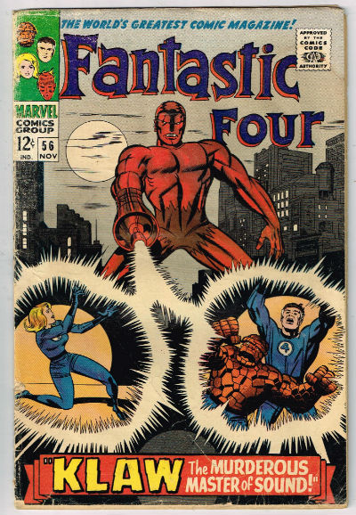 Image for FANTASTIC FOUR #56    1966,Nov. | VOLUME 1 | MARVEL