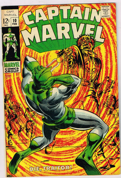 Image for CAPTAIN MARVEL #10   1969 |  VOLUME 1 |  MARVEL