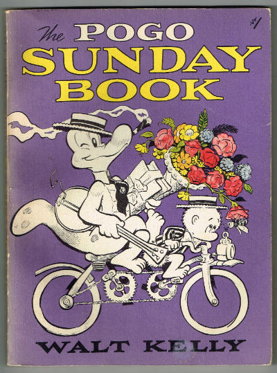 Image for The Pogo Sunday Book first 1956