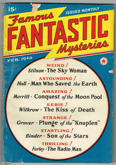 Image for Famous Fantastic Mysteries 1940 Vol. 1 # 5 Feb (February) Paperback – 1940  by Frank A. Munsey (Author)