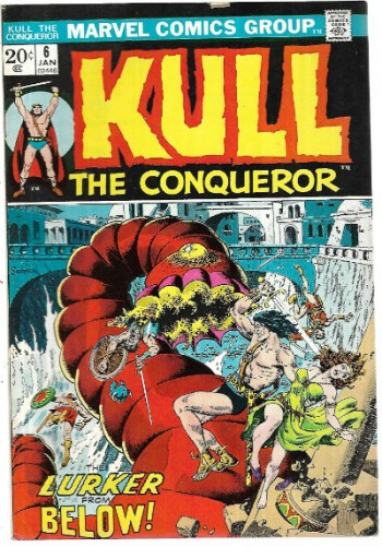 Image for Kull:the Conqueror #6