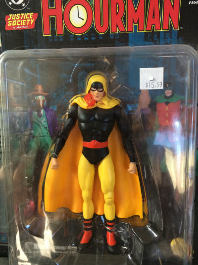 Image for Justice-Society-of-America-Golden-Age-Hourman-action-figure