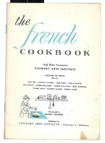 Image for The French Cookbook