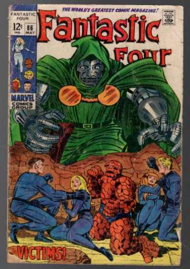 Image for Fantastic Four #86