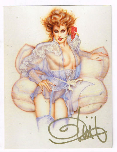 Image for Olivia-Greeting card signed