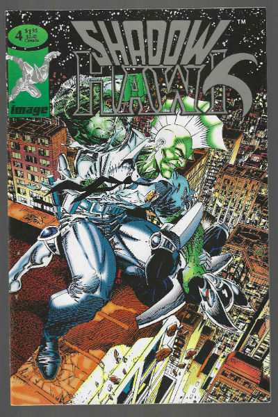 Image for Shadowhawk #4